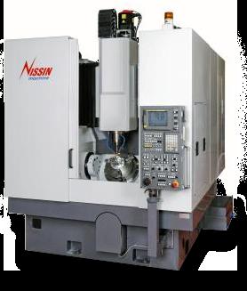SNK Nissin Max 410i-P40 5-Axis VMC